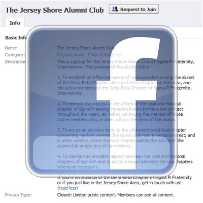 The Jersey Shore Alumni Club